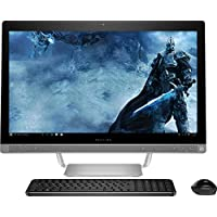 HP All in One Desktop 23.8 Inch FHD (1920x1080), 6th gen Intel Core i3-6100T 3.2Ghz processor, 8GB Ram, 1TB HDD,DVD Burner, WiFi/HDMI/Webcam, Win 10, Included Keyboard and Mouse