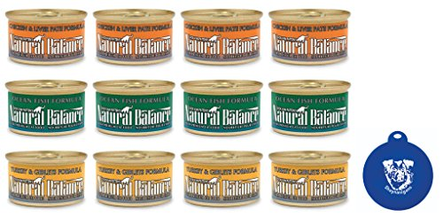 Natural Balance Ultra Premium Cat Food 3 Flavor Variety Bund