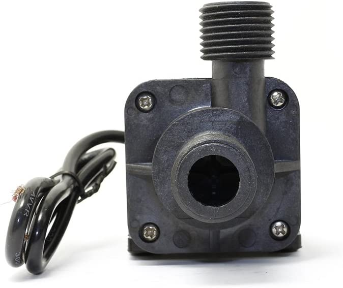 Lillyelectronics 24V DC Brushless mini pompa ad acqua calda magnetica ZC-T40 100 gradi