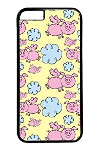 iphone 6 plus Cases & Covers -When Pigs Fly1 PC Hard Plastic Case for iphone 6 plus 5.5 inch Black