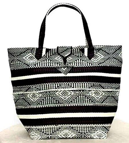 Africa Art Decoration–Sacchetto intrecciato, multiuso, grande, smt10