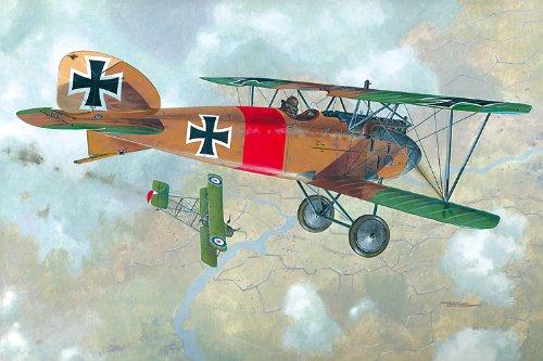 (Roden Albatros D.III German Pursuit Sesquiplane Airplane Model Kit)