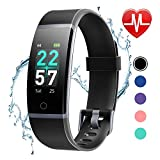 Best Activity Tracker Watches - LETSCOM Fitness Tracker with Heart Rate Monitor, Color Review