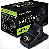Guarden Best Rat Traps That Work - Effective No Poison Rodent Killer Mouse Trap Pest Control for Gophers, Voles, Mice, and Rats