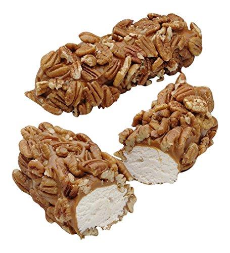 Pecan Log (Philadelphia Candies Pecan Caramel Nougat Log, 6 ounces (Set of 2))