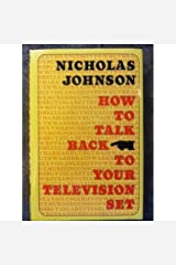 How to Talk Back to Your Television Set.