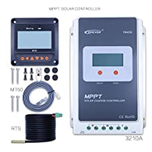 30A MPPT Solar Charge Controller Tracer A 3210A + Remote Meter MT-50 Solar Charge With LCD Display for Solar Battery Charging by Y-solar (3210A+MT50+RTS)