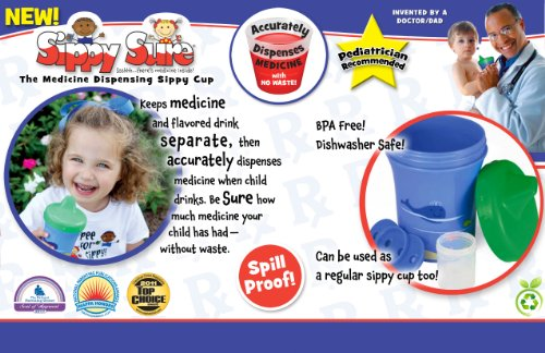 Sippy Sure is the world's first medicine dispensing cup - MIKESHOUTS
