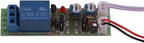 Activ/é D/ésactiv/é Relais de minuterie double Commande de relais temporis/é ADTV-YC 6S-60M DC12V