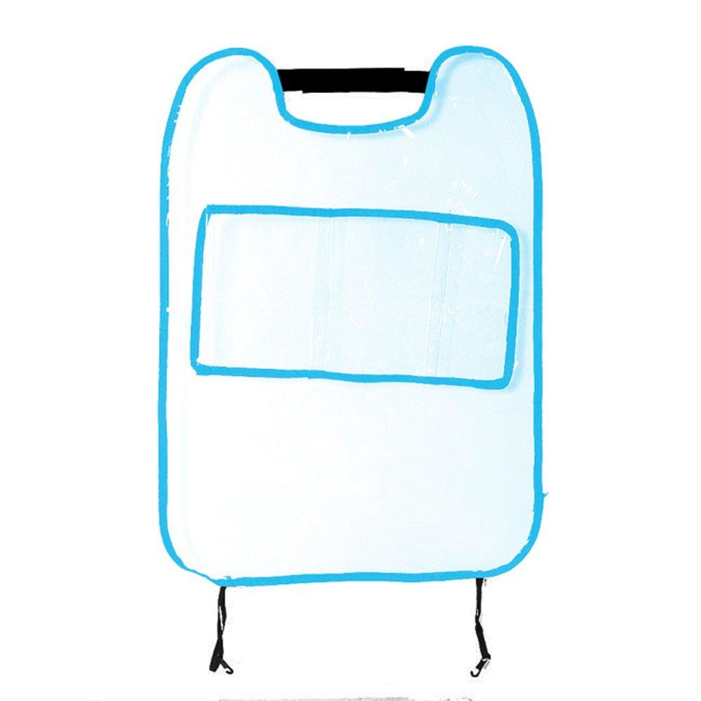 Gemini _ Mall® Siège Auto protection arrière Kick Tapis de sol pour enfant et bébé, Housse de siège de voiture Organiseur Gemini_mall