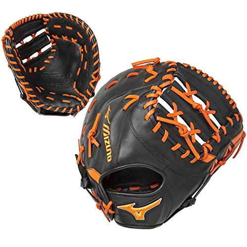 Mizuno GXF50PSE5 12.5'' Baseball First Base Mitt - Right Hand Throw by Mizuno
