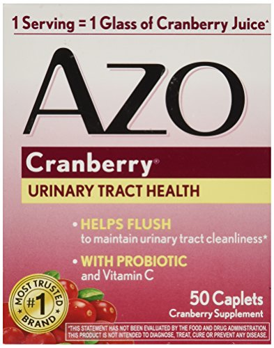 - AZO Cranberry Tablets, 50 Count