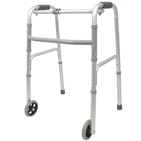 Andador plegable con ruedas Ortaid: Amazon.es: Salud y cuidado ...