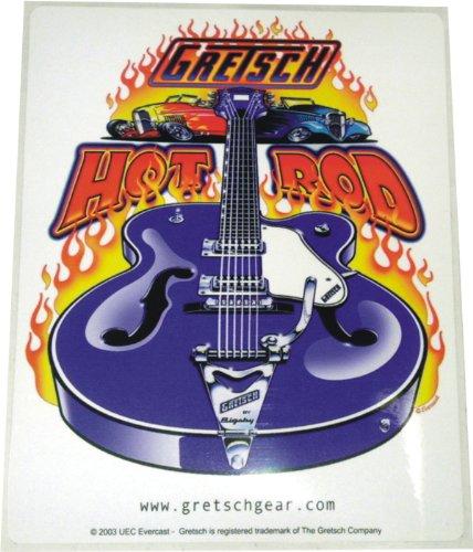 Gretsch HOT ROD Falcon w/ Bigsby Logo Sticker Decal -