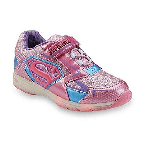 Supergirl Shoes (DC Comics Girl's Supergirl Light Up Shoes (2))
