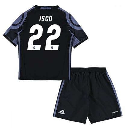 Amazon.com   UKSoccershop 2016-17 Real Madrid Third Mini Kit (ISCO ... 2ac9babc9