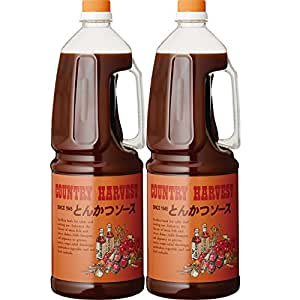 Country Harvest tonkatsu sauce business for 1.8L