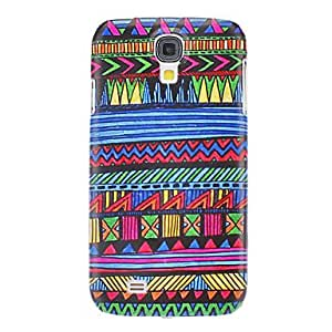 TOPQQ ships in 48 hours Blue River Pattern Hard Case for Samsung Galaxy S4 I9500