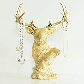 Amazon Com Kalalou Wall Mount White Ceramic Mounted Deer