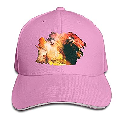 MARC Custom Closer The Chainsmokers Featuring Halsey3 Unisex Fishing Sandwich Cap Pink