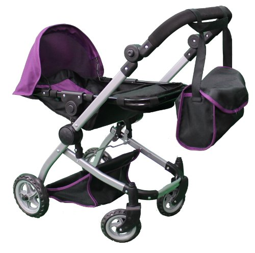 Mommy & Me Deluxe Babyboo Doll Stroller with Swiveling ...