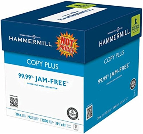 Hammermill Copy Plus Multipurpose Laser, Inkjet Printer & Fax Machine Paper, 8.5