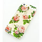 Plastic Case Cover for iPhone 5 5S 5C 6 6Plus (Pick One) Pink Roses floral flower cherry blossom japanese