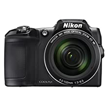 Nikon COOLPIX L840 Digital Camera with 38x Optical Zoom and Built-In Wi-Fi (Black)
