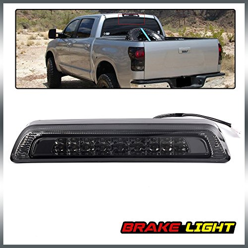 Full LED High Mount Stop Lamps 3rd Third Brake Tail Light Replacement For Toyota Tundra V8 2007-2018