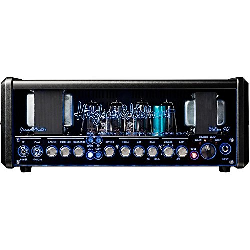 Hughes Guitar Amplifier - Hughes & Kettner GM40DH GrandMeister Deluxe 40 40W Guitar Amplifier Head Level 2 Regular 190839143723