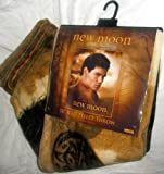New Moon Jacob Black 50 x 60 Fleece Throw Blanket NECA Raschel Ultra Soft Twilight