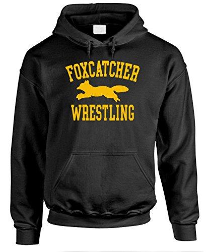 (The Goozler Foxcatcher Wrestling - Sport Movie - Mens Pullover Hoodie, L, Black)