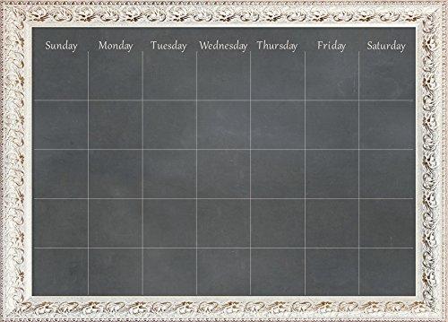 WallPops WPE2489 Circa Monthly Calendar, Black