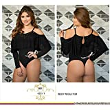 Moda Colombiana Womens Body Shaper Blouse Blusa Fajas Colombianas Ab Control Ref 4351 ONE SIZE