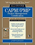 img - for CAPM/PMP Project Management Certification All-in-One Exam Guide with CD-ROM, Second Edition by Phillips, Joseph (2009) Hardcover book / textbook / text book