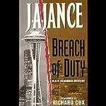 Breach of Duty: A J.P. Beaumont Novel | J. A. Jance
