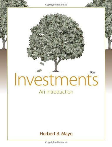 Investments: An Introduction (with Thomson ONE - Business School Edition and Stock-Trak Coupon) by Cengage Learning
