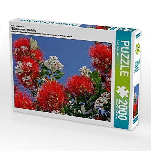 Ein Motiv aus Puzzle dem Kalender Blütenzauber Madeira 2000 Teile Puzzle aus quer 5bb2fe