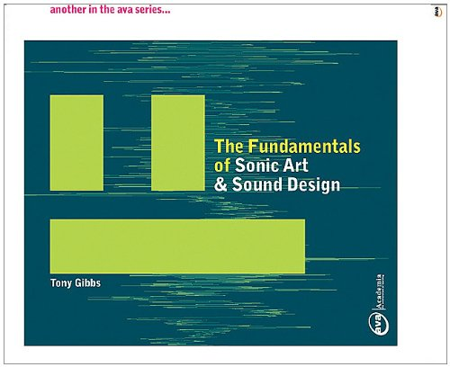 The Fundamentals of Sonic Art and Sound Design by Brand: Fairchild Books