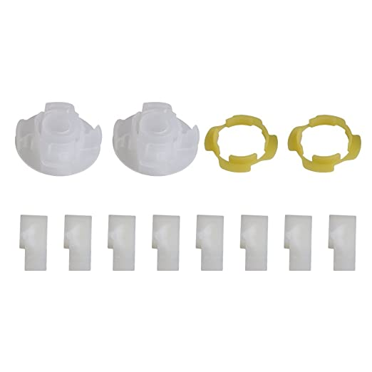 RDEXP Kit de reparación de agitador de lavadora de plástico para ...