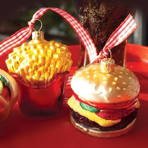 Amazon.com: Ornaments to Remember: BURGER AND FRIES Christmas Ornament:  Home & Kitchen - Amazon.com: Ornaments To Remember: BURGER AND FRIES Christmas