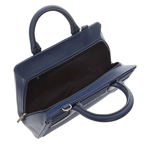 leather Mandarina Duck fabric and P10SET0221U You Bag Female Blue pgIwgHq