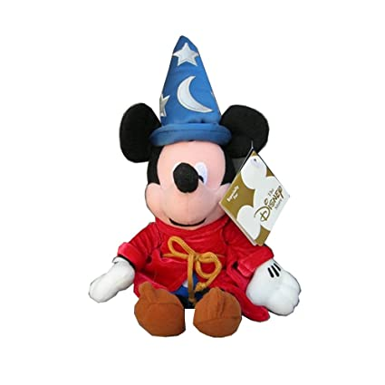 fffca855dd0 Image Unavailable. Image not available for. Color  Disney Fantasia 2000 Sorcerer  Mickey Mouse Bean Bag Plush ...