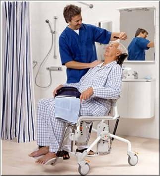 etac swift mobile tilt 160 shower commode chair amazon co uk