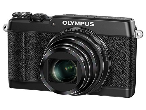 OLYMPUS compact digital camera STYLUS SH-3 black optical 5-axis image stabilization optical 24 times and super-resolution 48 times zoom SH-3 BLK [International Version, No Warranty]