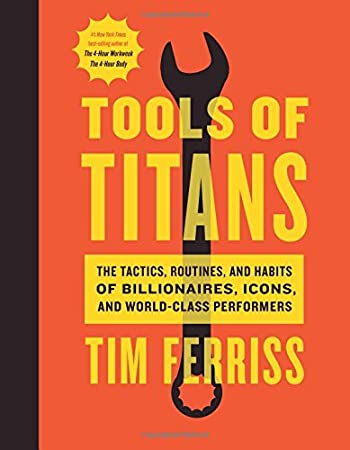 Timothy Ferriss (Author), Arnold Schwarzenegger (Foreword)(1585)Buy new: $28.00$16.8095 used & newfrom$11.99