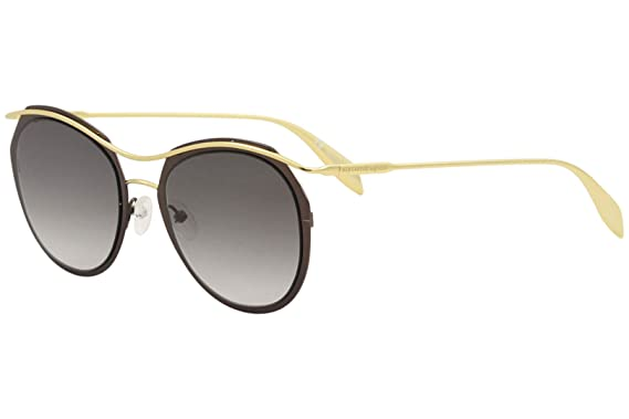 9a869ee6000 Image Unavailable. Image not available for. Color  Alexander McQueen  AM0116S Sunglasses 001 ...