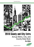 County and City Extra 2010, Bernan Press Staff, 1598884093