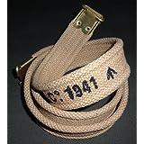 British Enfield Web Khaki Sling MARKED MEC 1941