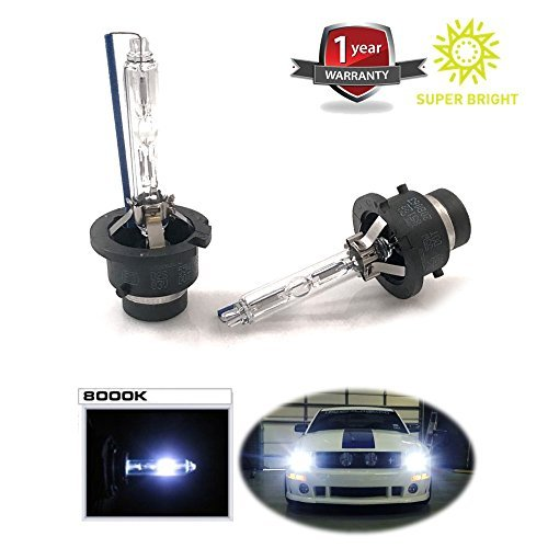HID Headlight Bulbs By MONDES Xenon Replacement Car Automobile Headlamps For High Beam And Low